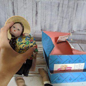 Madame Alexander China 572 Doll country